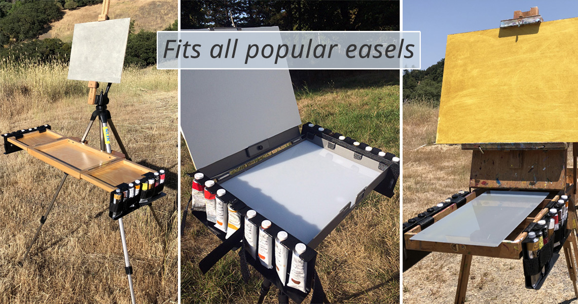 Fits all popular easels